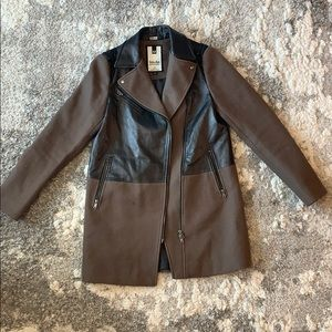 Soia & Kyo leather Trenchcoat